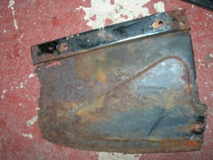 Inner Wing End plate