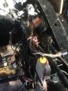 Temporary Engine Bay Wiring