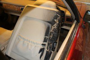 Burnt Seat