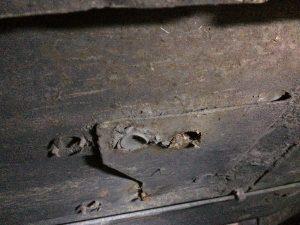 Underside hole & flat panel