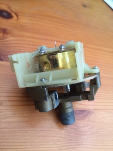 Initial motor test install