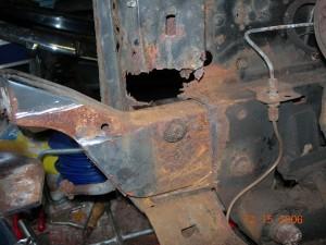 Left Hand Radiator Support