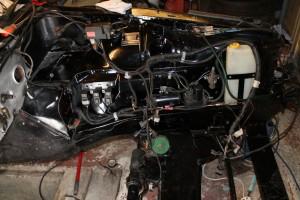 Wiring - Relays, Alternator suppressor & fuel vapor system installed