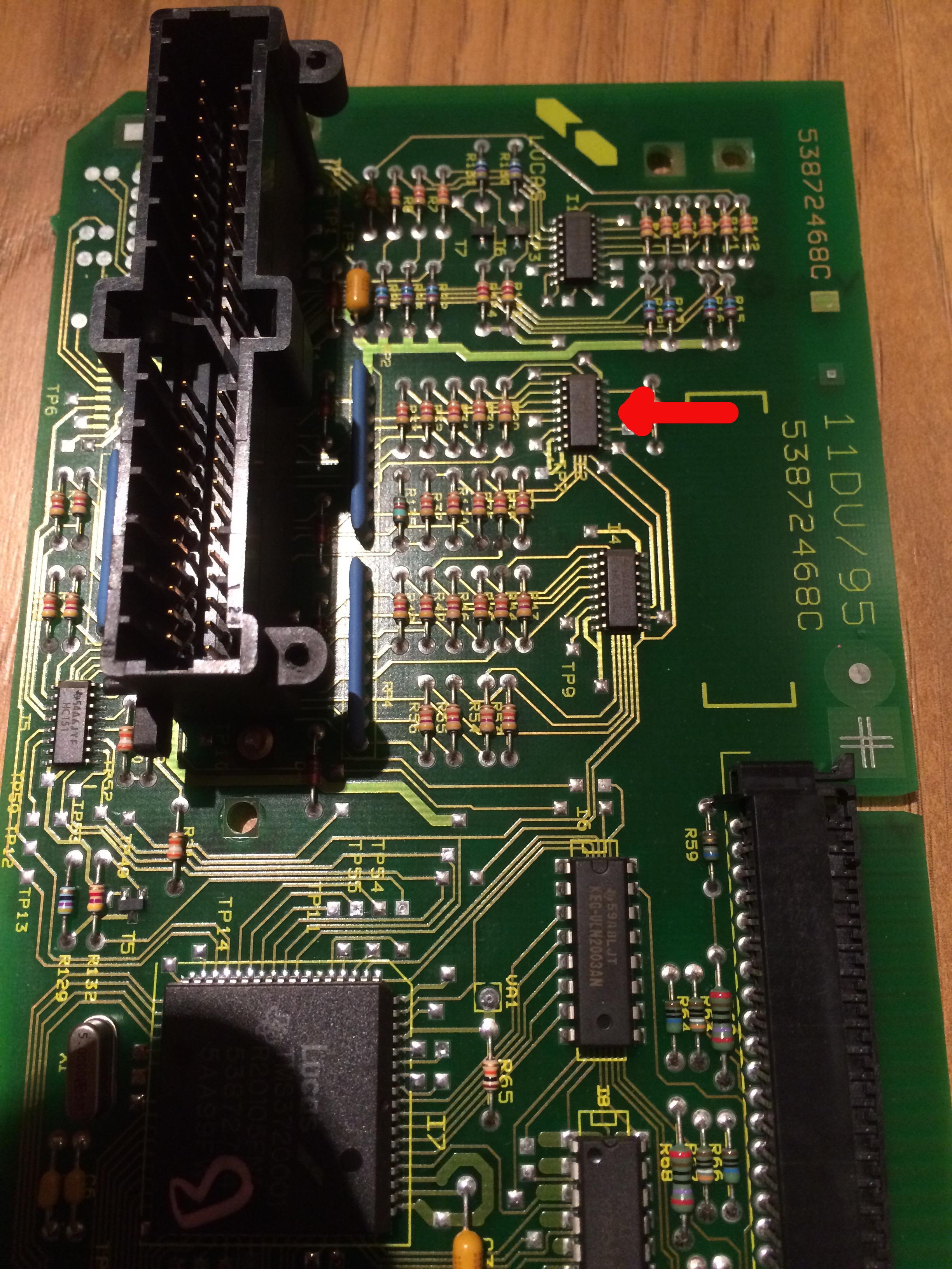 Instrument Display Board
