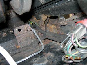 Original radiator & sensor
